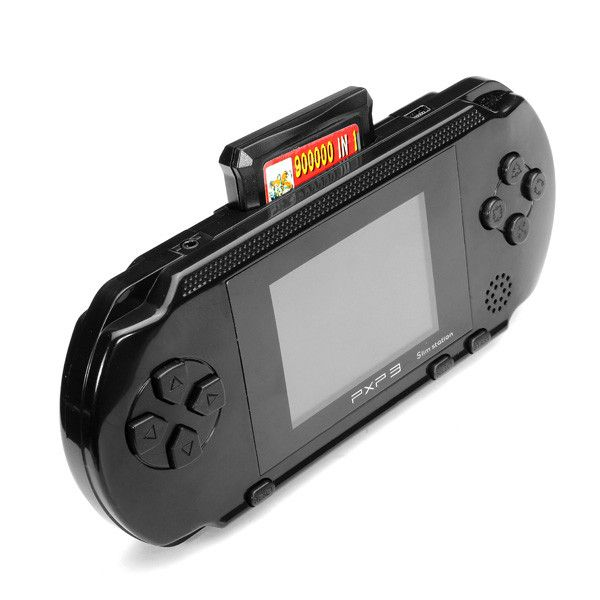 Foto PXP 3 handheld game console + game card