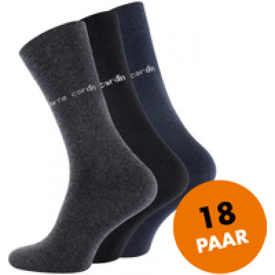 Foto Pierre Cardin - 18 paar herensokken, business socks