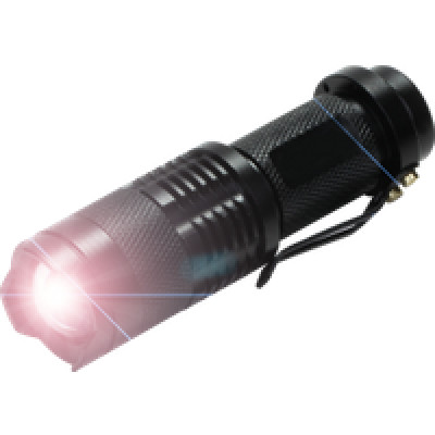Foto Zaklamp met 240Lm LED | Tactical | Water resistent