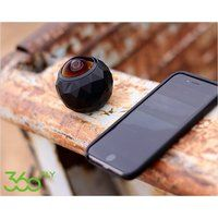 Foto 360fly hd camera met accessoires