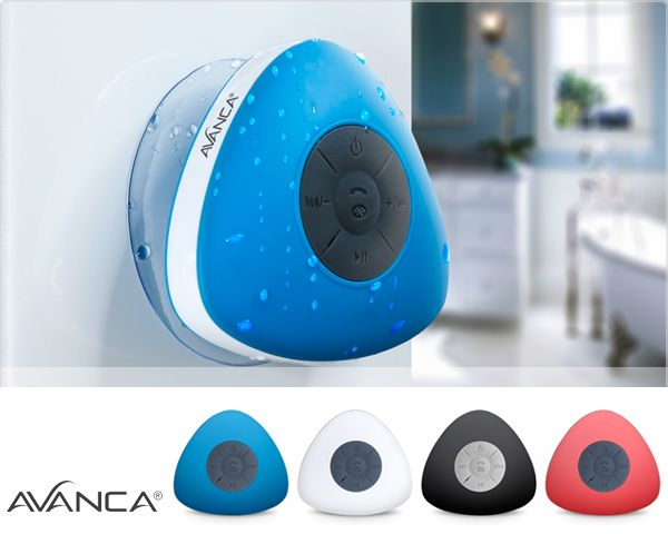 Foto Avanca waterproof bluetooth speaker in 4 kleuren