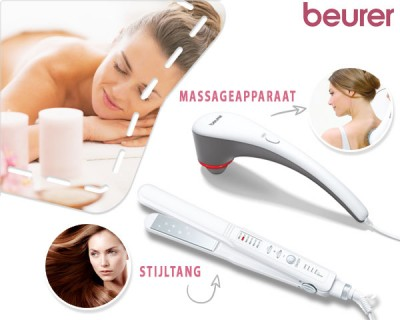 Foto Elle by beurer stijltang of massageapparaat