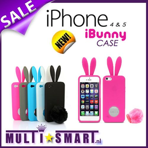 Foto iBunny case voor iPhone
