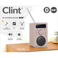 Foto Clint dab+ design speaker met bluetooth