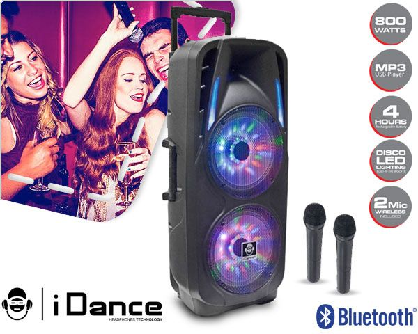 Foto Idance audio groove 800w bluetooth speaker