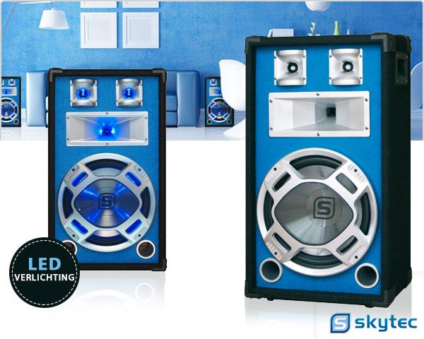 Foto Skytec led disco 600w speaker