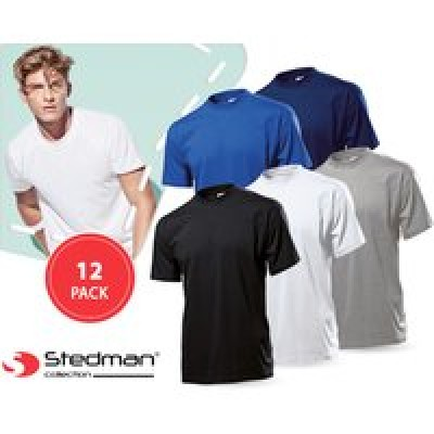 Foto 12-​pack stedman basic t-​shirts