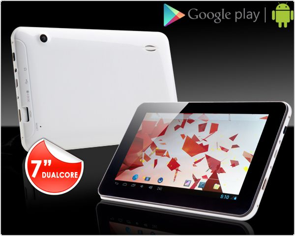 Foto 7 inch dualcore 4gb android tablet