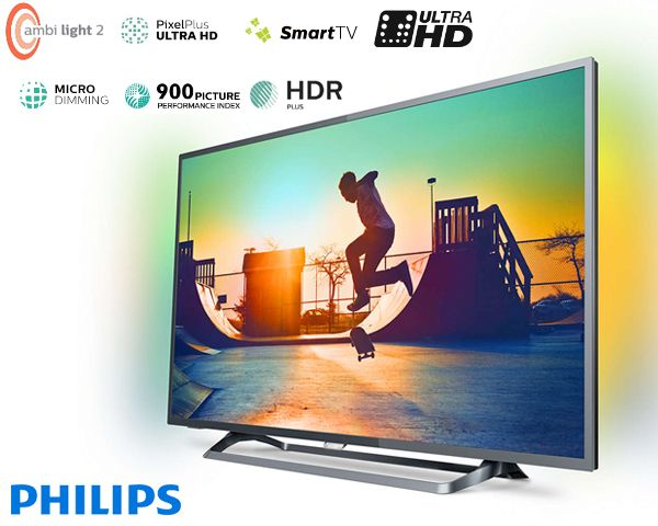 Foto Philips 4k ultra hd smart led tv (2017)