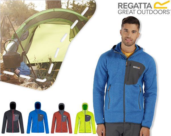 Foto Regatta fleece jack voor heren