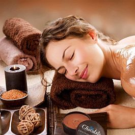 Foto Chocolade Massage Set
