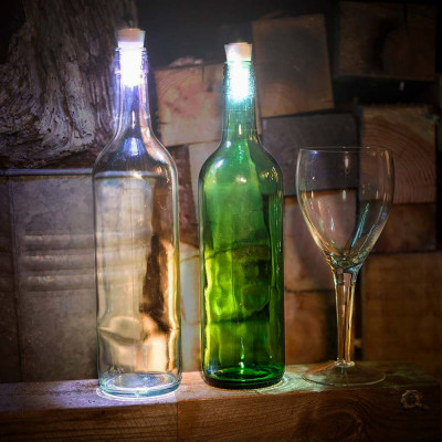 Foto LED Bottle Cork - Wijnfles Stopper