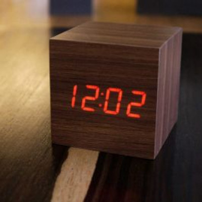 Foto Mini Wooden Clock Original