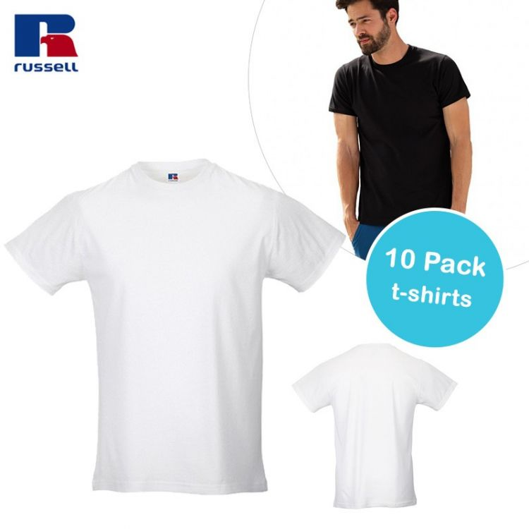 Foto 10 pack T-Shirts van Russell Athletic