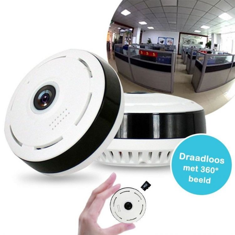 Foto 360 graden Fisheye IP camera