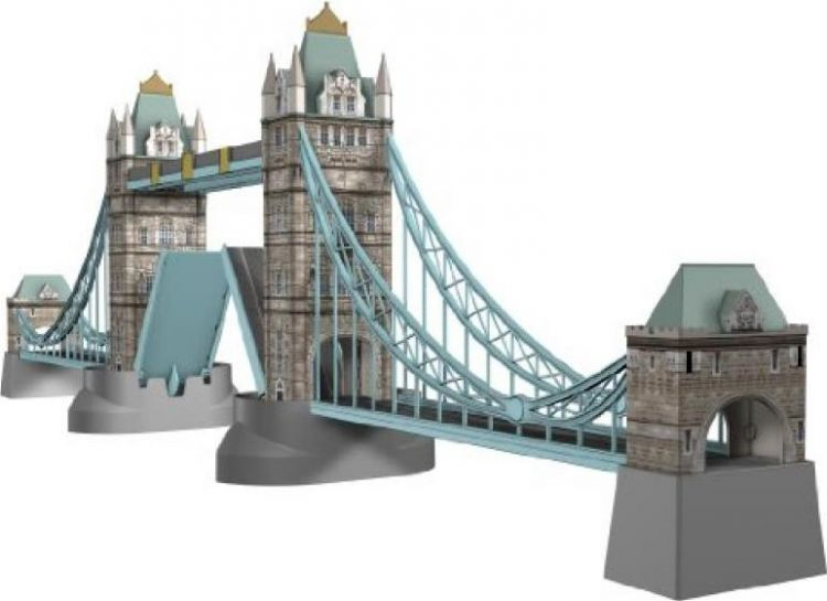 Foto 3D Puzzel - Tower Bridge Londen