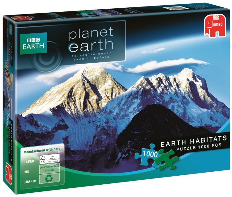 Foto Earth Habitats - Mount Everest - 1.000 stukjes