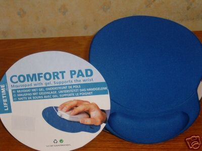 Foto Mousepad Gel Blue