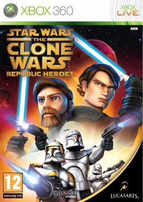 Foto Star Wars The Clone Wars, Republic Heroes Xbox 360