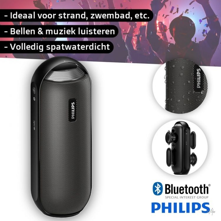 Foto Philips Bluetooth Speaker BT6000B Black