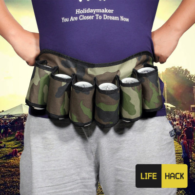 Foto Outdoor Fles Fanny Pack