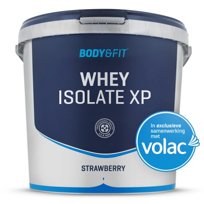 Foto Whey Isolaat XP - 4000 gram - Strawberry Flavour