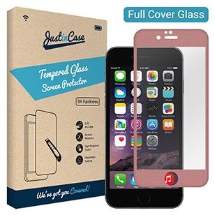 Foto Just in Case Full Cover Tempered Glass (Apple & Samsung)