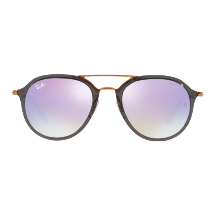 Ray-Ban RB4253 Shiny Grey / Lillac Flash Gradient Lens afbeelding