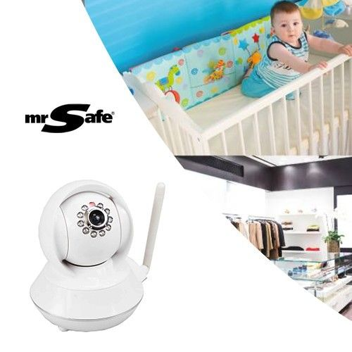 Foto Mr. Safe Draadloze HD Indoor IP-Camera Pro