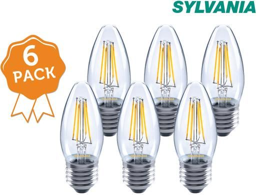 Foto 6x Sylvania Retro LED-lamp E27