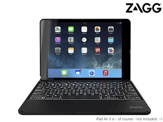 Foto Zagg Keys Folio met Backlight | QWERTY
