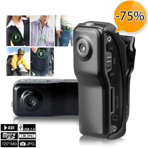 Foto Kleinste plug and play video camera