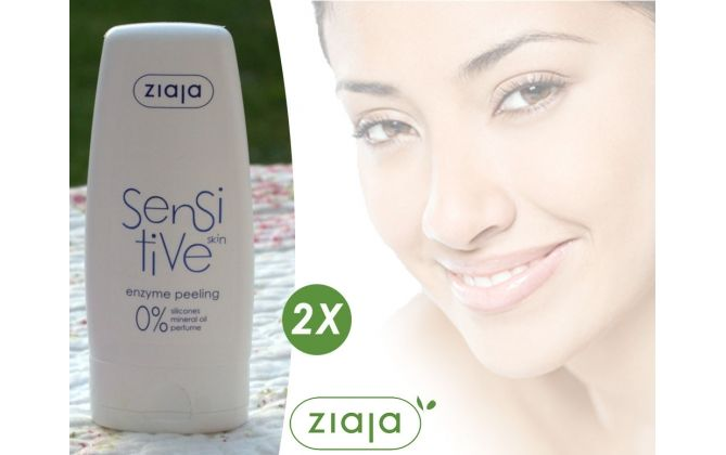 Foto 2-Pack Ziaja Sensitive Skin Enzyme Peeling 60ml