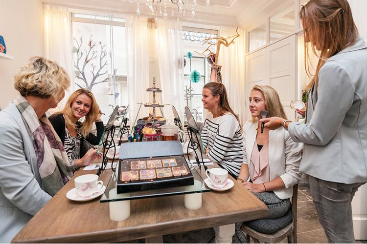 Foto Beauty workshop met mini high tea - 2 personen