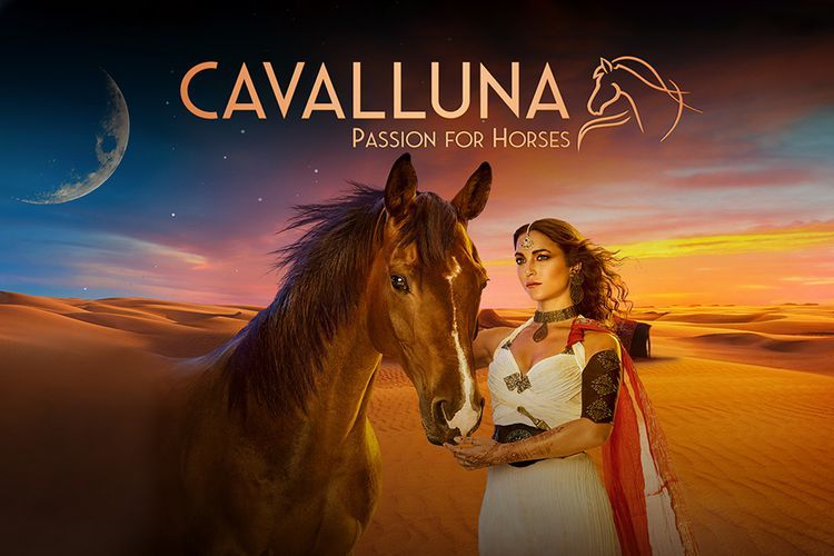 CAVALLUNA: Legend of the Desert in Rotterdam Ahoy (2 p.) afbeelding