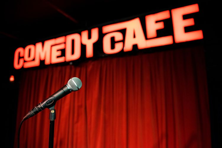 Foto Comedy Café: top stand-up comedy in Amsterdam (2 p.)