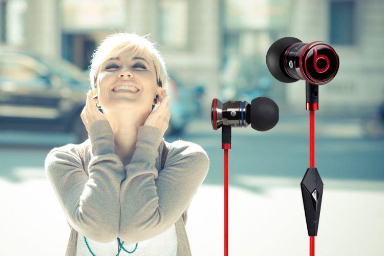 Foto Monster Beats by Dr. Dre in-ear oordopjes (voor Android)