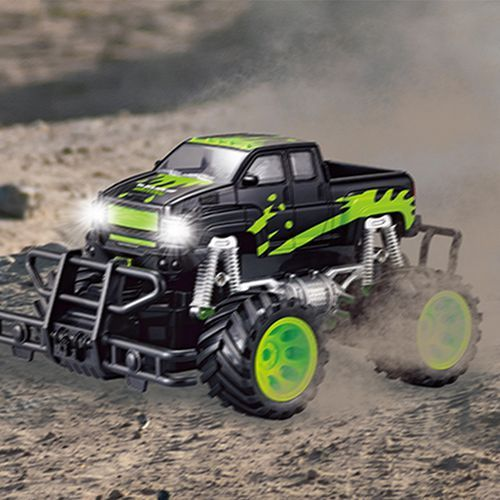 Monstertruck raceauto (20 km/h) afbeelding