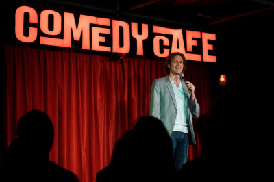 Foto Comedy Café top stand-up comedy in Amsterdam (2 p.)