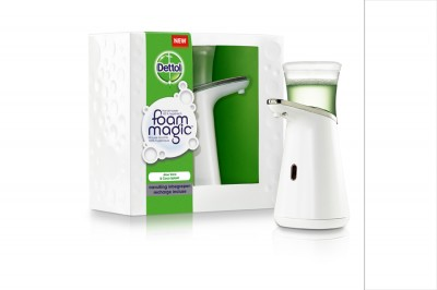 Foto Dettol Magic Foam dispenser + vulling (200 ml)