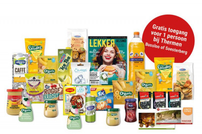 Foto Happy Box met 25 producten + sauna entree (1 p.)
