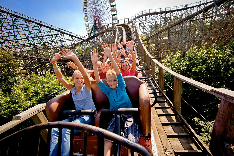 Walibi Belgium:´great mix of sensations´ (2 kaarten) afbeelding