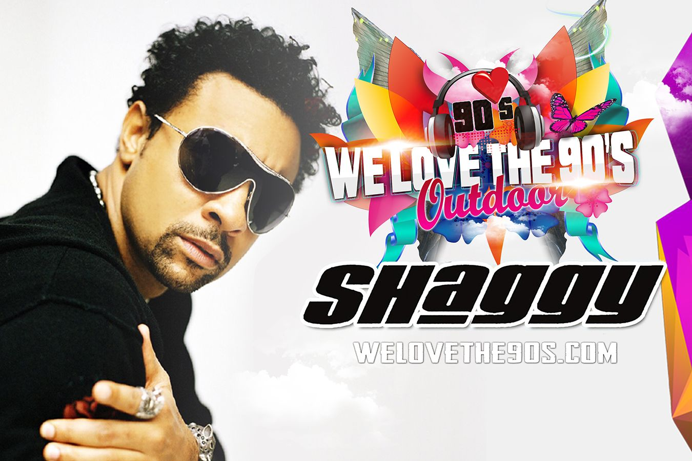 Foto We love the 90's - Outdoor Festival met wereldster Shaggy