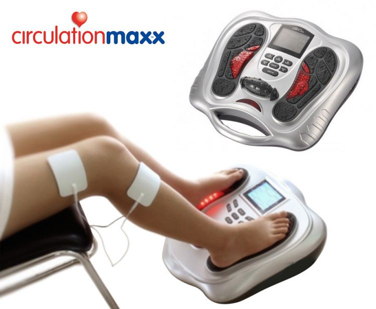 Circulation Maxx Elektrische Spierstimulator - Verlicht Direct... afbeelding
