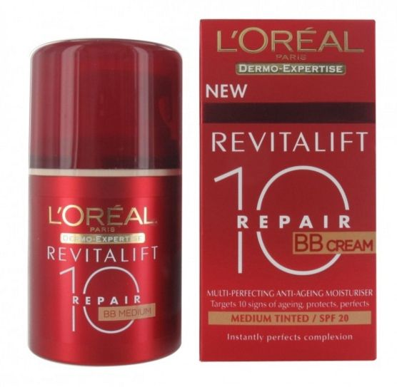 Foto L'Oreal Dermo Expertise Revitalift Total Repair 10 BB SPF20 Found. Medium