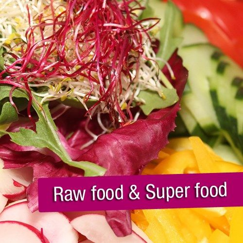 Foto Raw food & Super food