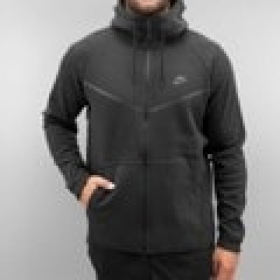 Foto Nike Sportswear Tech Fleece Windrunner Zip Hoody Black/Black