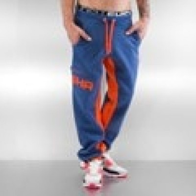 Foto Shisha Sundag Sweat Pants Steel Blue Ash/Orange