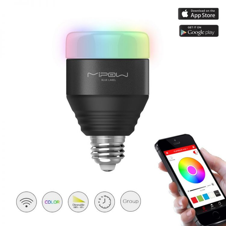 Foto €34.95 ipv €49.95 - Led lamp met app control: Bedienbare multifunctionele lamp