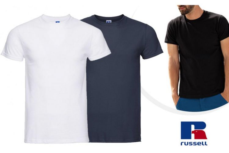 Foto 10-Pack Slim Fit T-Shirts Van Russell